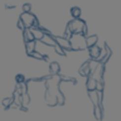 figure drawing April 08 2019 1 min poses