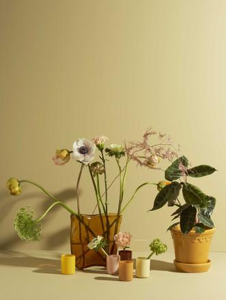 PLAZA INTERIOR - FLOWERS & VASES