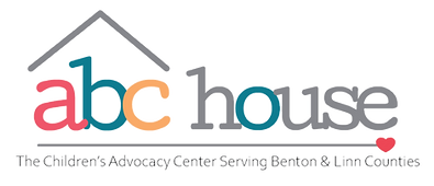 ABC House the Children's Advocacy Center Serving Benton & Linn Counties Logo