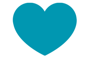 Tribute Gifts Blue Heart