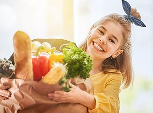 Shopping Rewards Program Child Smiling