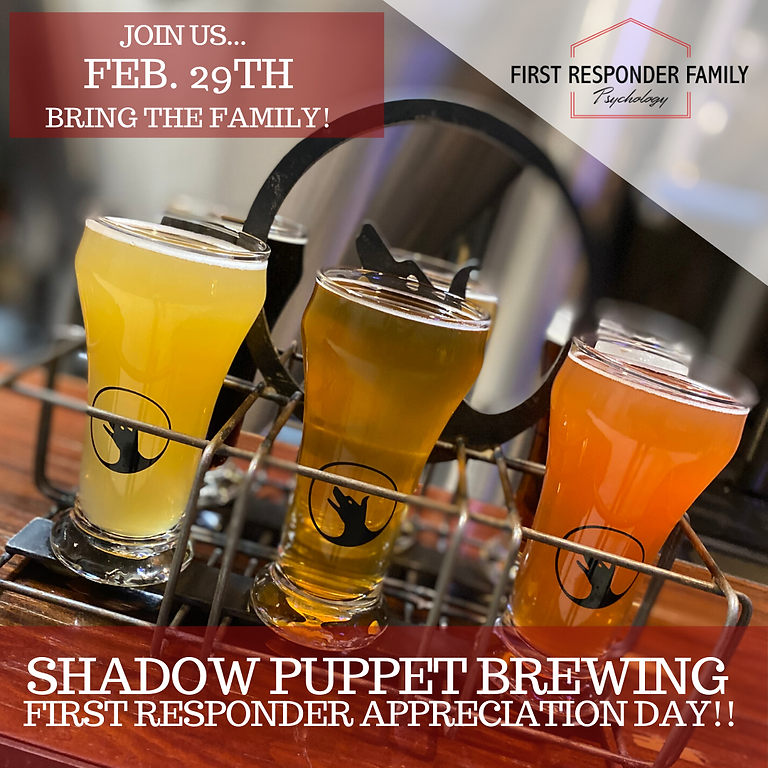 First Responders Appreciation Day at Shadow Puppet Brewing Company