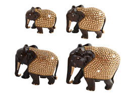 Roasewood-Sparkle-Elephant-Set-of-four-The-Modish-Store-Bling  (5)