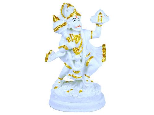 6 inches Glow Stone Statue - Hanuman Ji