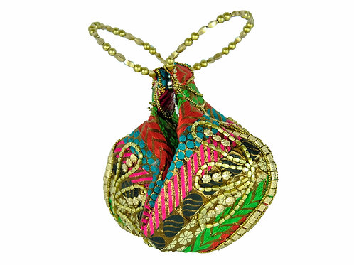 Vibrant Multi Color Potli Purse / Bag - A Party Accessory