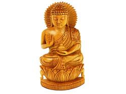 Lord Buddha on Lotus Flower