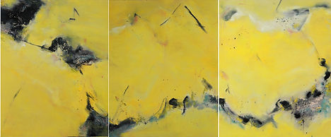 On Golden Pond|240x100cm
