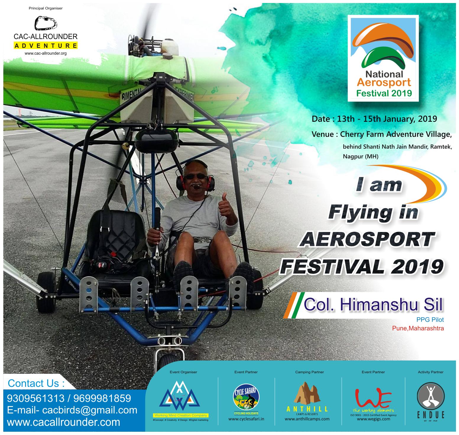 NATIONAL AEROSPORT FESTIVAL | CAC Allrounder | Adventure