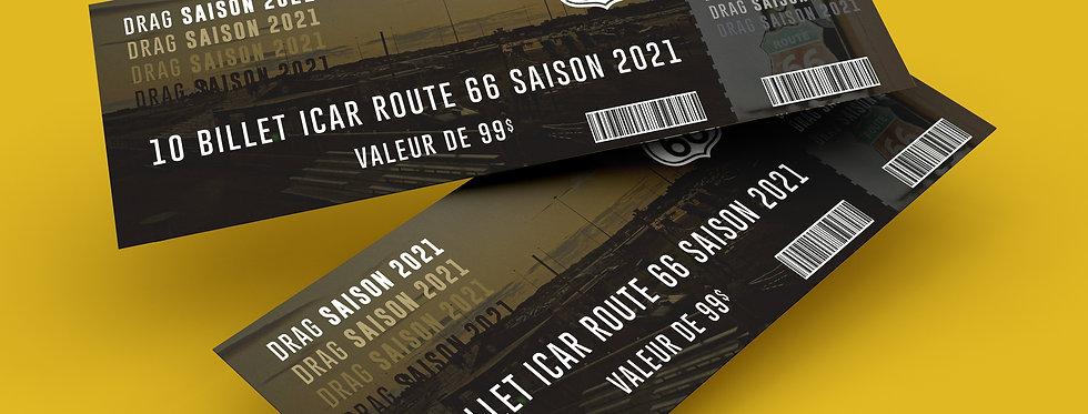 10 Billet ICAR Route 66 Saison 2021
