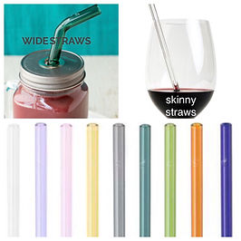 glass straw reusable straw