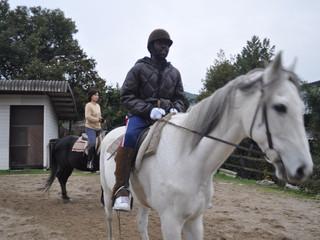 52WL Horse riding
