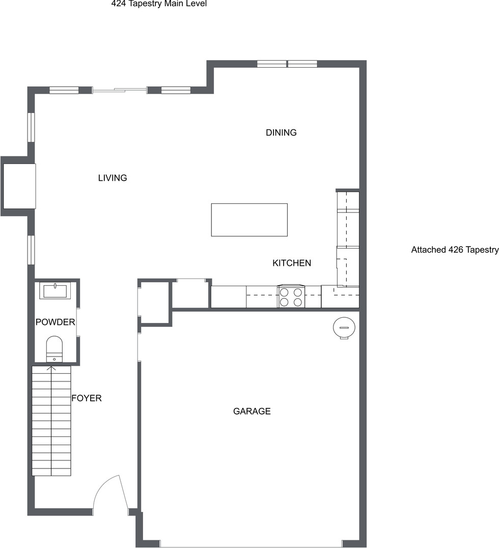 424 tapestry place floor plan- level 1 j