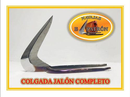 NAVAJA EL PATRON COLGADA JALON COMPLETO