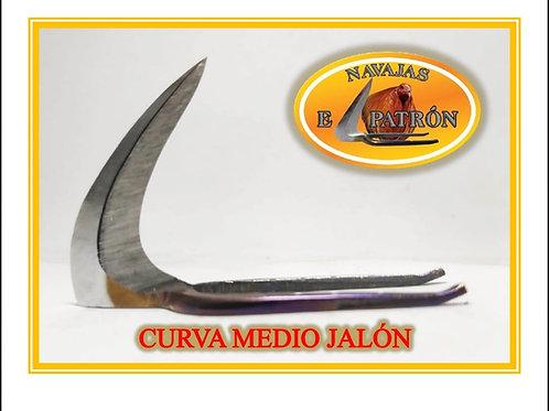 NAVAJA EL PATRON CURVA MEDIO JALON