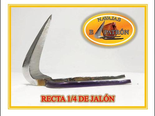 NAVAJA EL PATRON RECTA 1/4 DE JALON