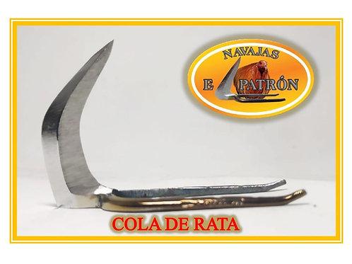 NAVAJA EL PATRON COLA DE RATA