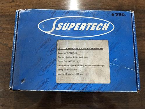 Supertech 4AGE Single Valve Spring Kit