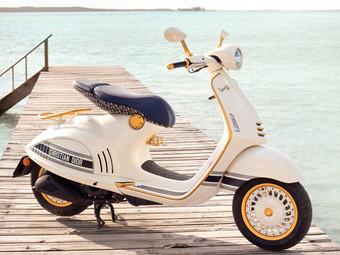 Vespa 946 Christian Dior, disponibile a partire dalla primavera del 2021