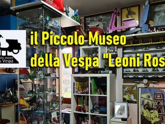 """il Piccolo Museo della Vespa """"Leoni Rossi"""""""