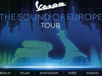 """Vespa protagonista dell'estate 2019 con """"The Sound of Europe Tour"""""""