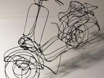 "The ""wire art"" of Martin Senn"