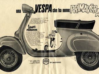 """""""Con Vespa si può"""", una gallery per i 50 anni della Vespa Primavera"""