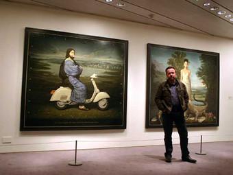 Alan Macdonald, pittore classico in età moderna.