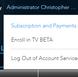 LIVE TV Beta Tester