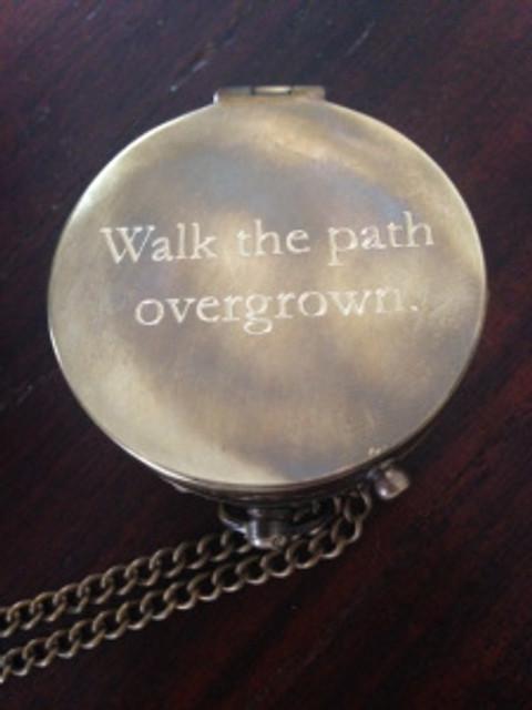 Walk the Path Overgrown