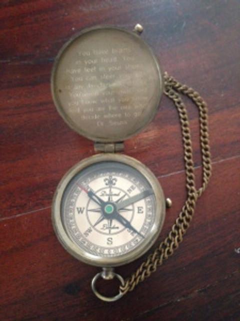 compass open