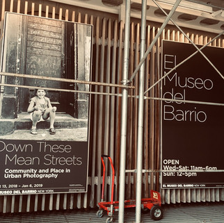 Down These Mean Streets: Community and Place in Urban Photography, at El Museo del Barrio.