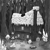 Hansel and Gretel House BW