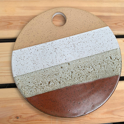 cheese stone, cheese board, appetizer plate