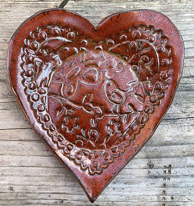 Valentines Day, heart, jewelry tray, spoon rest