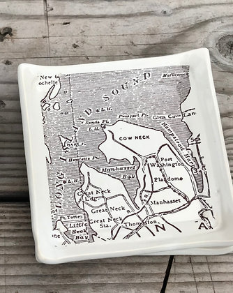 tapas plate with map long island manhasset port washington
