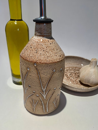 Olive Oil Pour, Olive Oil Bottle, Condiment Cruet