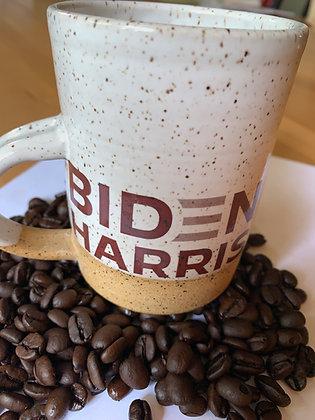 Biden Harris 2020, Political Pottery, Biden Mug, Harris Mug, kamala Harris, Joe Biden