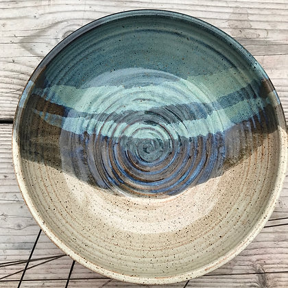 Large Salad Bowl, Ceramic Bowl, Large pasta bowl, wedding gift