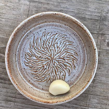 Oil Bottle, EVVO, garlic grater, garlic grate plate, oil plate, dipping plate