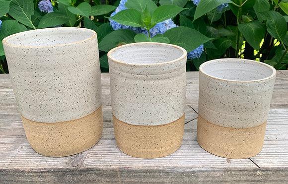 Vase, Ceramic Vase, White Vase