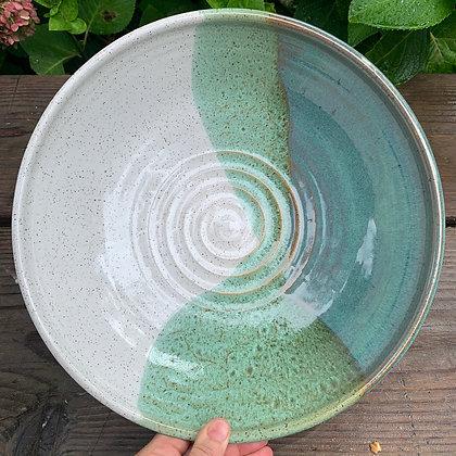 Large Salad Bowl, Fruit Bowl, Ceramic centerpiece bowl