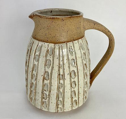 ceramic pitcher, sangria pitcher