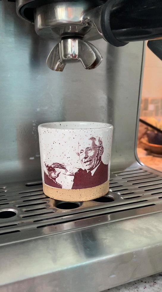Espresso cups Dr. Fauci & Gov. Cuomo
