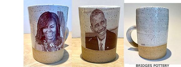 Barack Obama - Handmade Artisan Mug