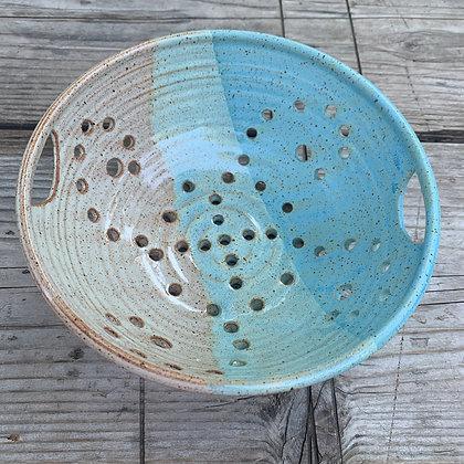 Ceramic Berry Bowl, Berry Bowl, Fruit Bowl, Colander