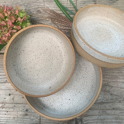 coupe tray, ceramic serving bowl