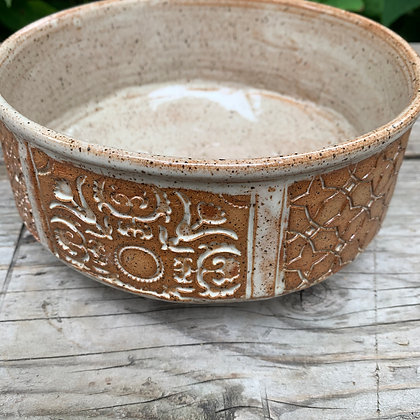 ceramic serving bowl, salad bowl