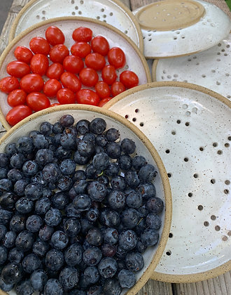 Berry Bowl, Berry Plate, Fruit Plate