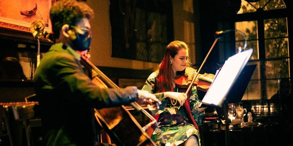 """Duo de Violino & Cello - """"Uma viajem pela história música"""" com Rebeca Vieira e Advaldo Silva"""