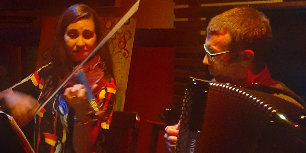 Tangos e Músicas Francesas - Com Rebeca Vieira ao violino e Lucien Perrinjaquet (músico suíço convidado).